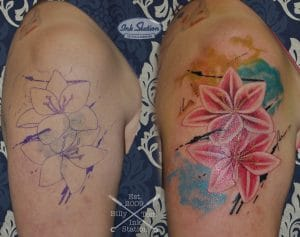 Cover Up Tattoo spezialist Stuttgart ink station taetowierung tattoos 0711 inked