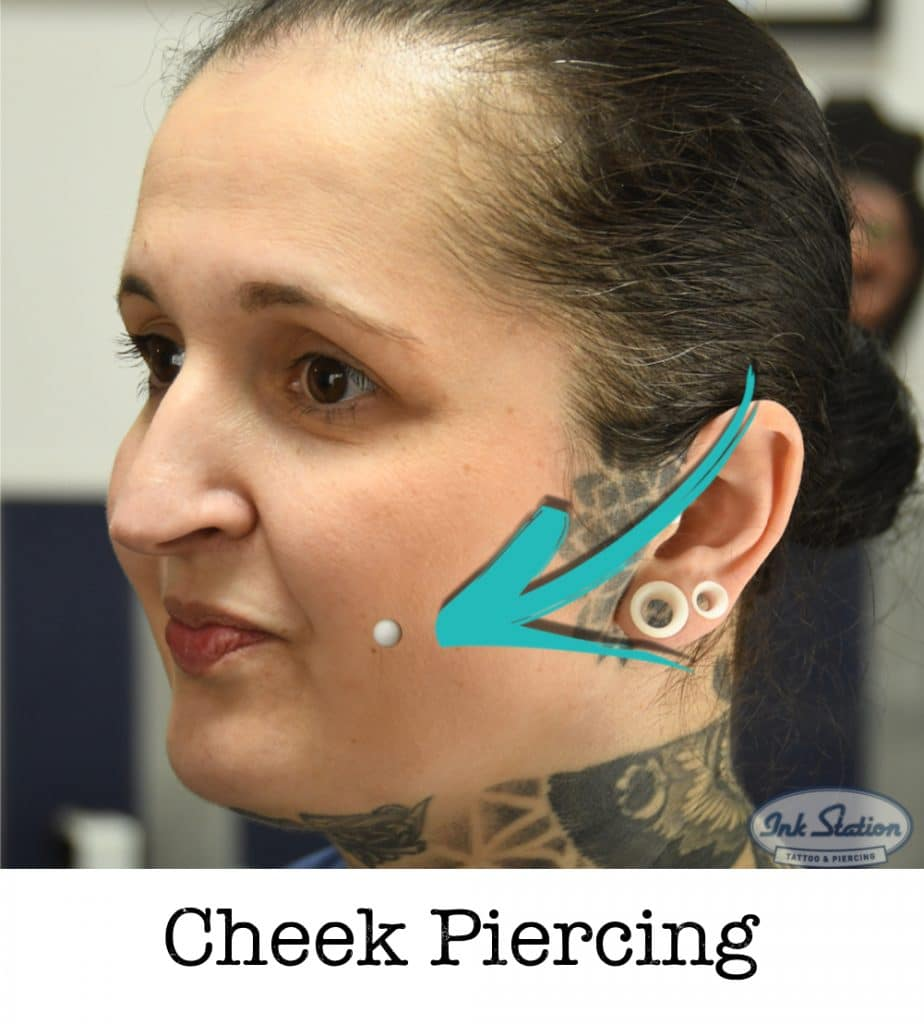 CHEEK piercing piercing ABC ink station stuttgart piercingstudio