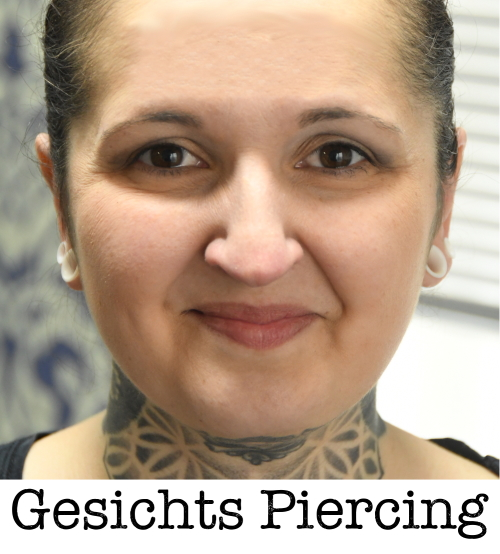 gesichts piercing piercing ABC ink station stuttgart piercingstudio