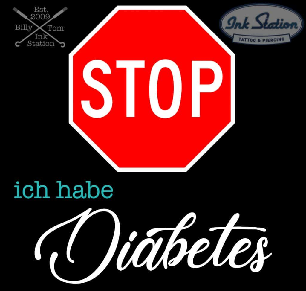 diabetes und tattoos ink station tattoo Piercing stuttgart taetowierung 0711