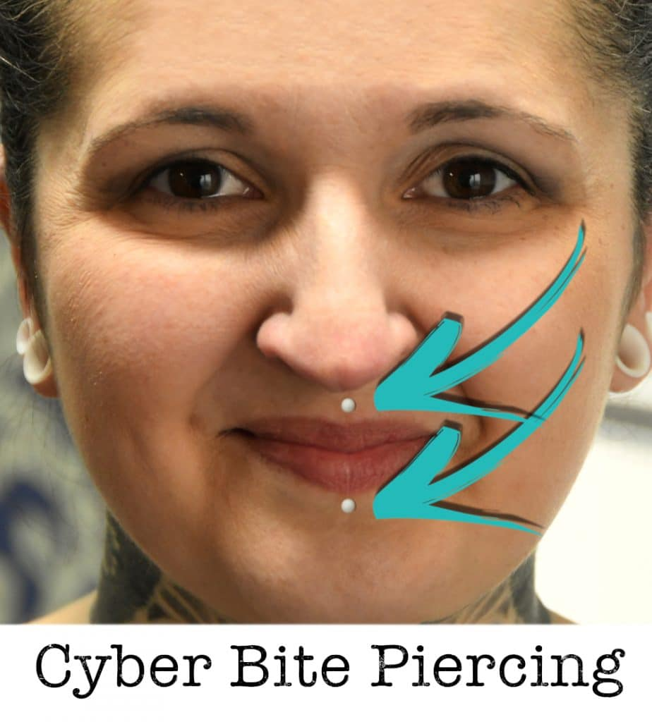 cyber bite piercing piercing ABC ink station stuttgart piercingstudio