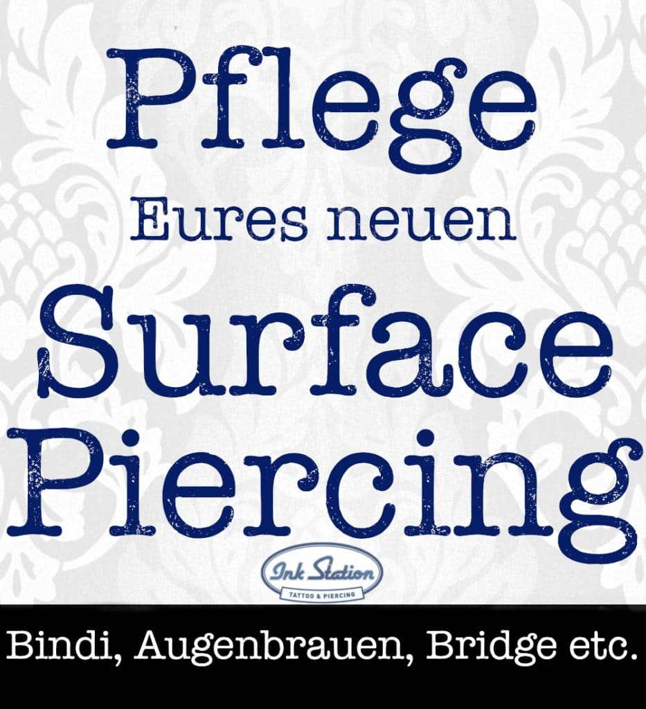 surface piercing piercing ABC ink station stuttgart piercingstudio