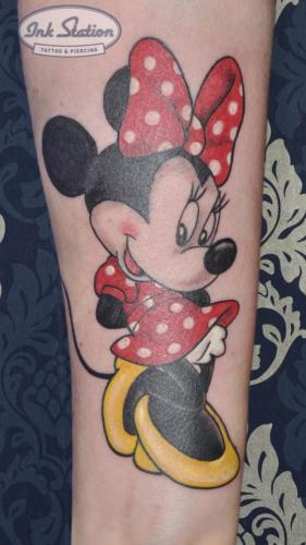 micky mouse cute Old New School Tattoo Stuttgart Ink Station 0711 Colored (81)