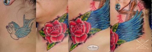 Tattoo stuttgart taetowierung 0711 fineline inkstation inked Coverup Coveruptattoo Coveruptattoos Coverupspezialist rosen flower (5)