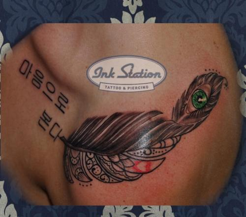 feder fether Blackandgrey tattoo stuttgart ink station 0711 inked fineline (88)