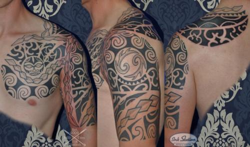 moko polinesisch tattoo maori the rock lines blackwork tattoo stuttgart ink station stuttgart taetowierung 0711 inked.jpg (4)