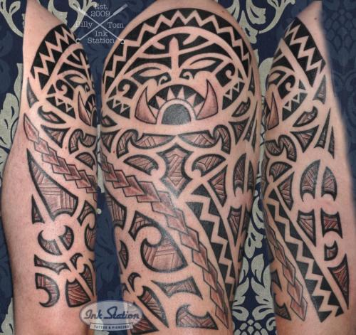 moko polinesisch tattoo maori the rock lines blackwork tattoo stuttgart ink station stuttgart taetowierung 0711 inked.jpg (9)