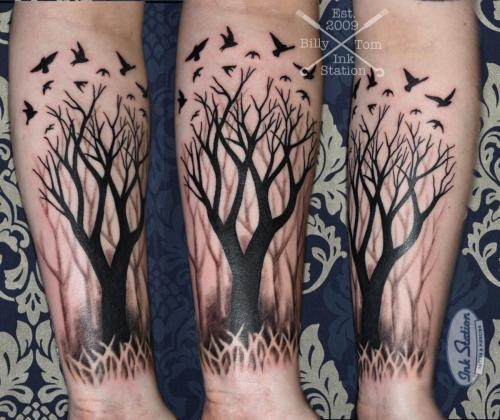 tree blackwork Blackandgrey tattoo stuttgart ink station 0711 inked fineline (170)